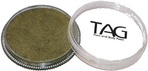 Bronze Metallic Lizard - TAG Face Paints - Pearl Bronze Green (32 gm)