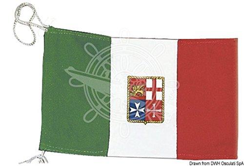 Bandiera Italia Marina Mercantile 130 x 200 cm Osculati