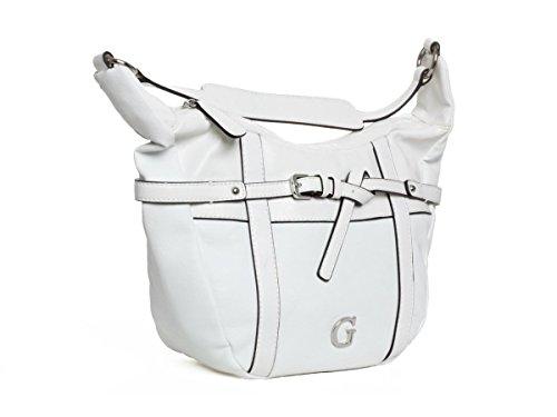 Guess Shopper Schultertasche Tasche Weiß #GU093A