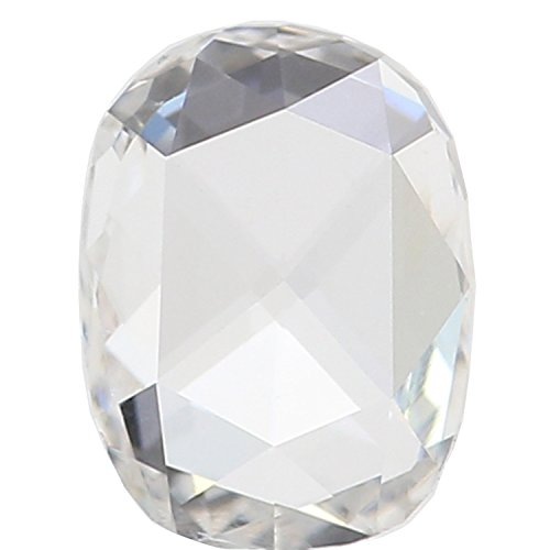 Si2 Cushion Loose Diamond (GIA CERTIFIED Natural Loose Diamonds Cushion Rose Cut F SI2 Clarity 6.36 MM 0.63 Ct L3881)