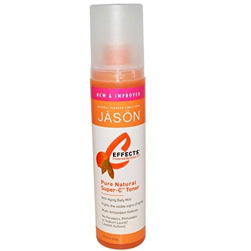 Jason C Effects Pure Natural - Jason Natural, C-Effects, Pure Natural Super-C Toner, 6 fl oz (177 ml) - 2pc