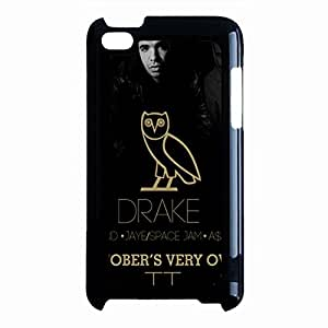 Rapper Drake Premium Design Cover Shell Hybrid Cool Rap Hip-Hop Singer Drake Phone Case Cover for Ipod Touch 4th Generation