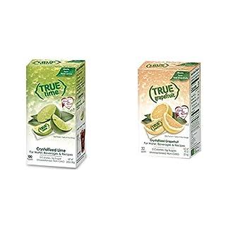 True Lime Bulk Dispenser Pack, 100 Count (2.82oz) & True Grapefruit Sachet Packets, 32 Count (0.90 oz)