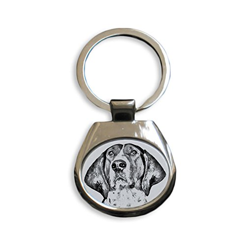 Treeing Walker Coonhound, new keyrings with purebred dogs, unique gift, (New Treeing Walker)