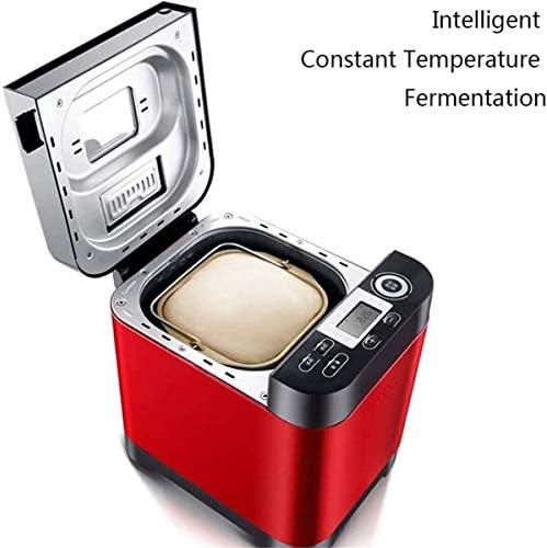 Automatische broodmachine, Intelligent Fast Breadmaker Touch met LCD-scherm en 18 menu's, 1 uur isolatie, 450W