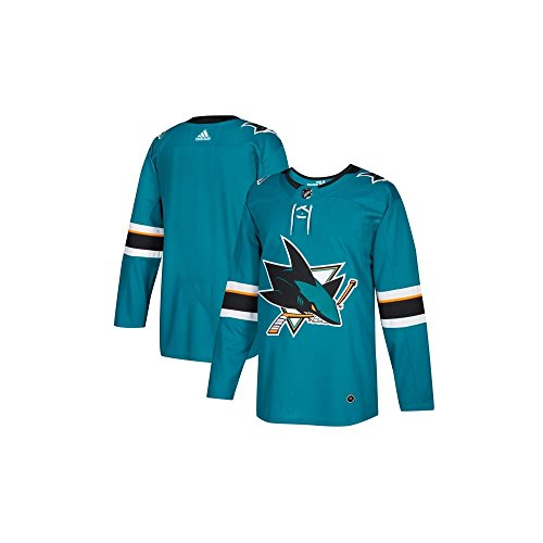 -  San Jose Sharks Adidas NHL Men's Climalite Authentic Team Hockey Jersey 46/S