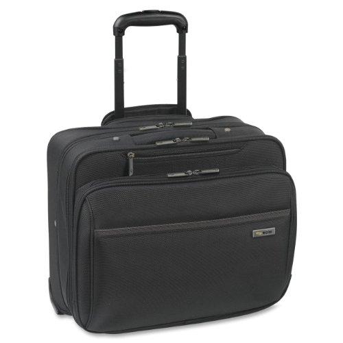 Solo Westside 16 Inch Rolling Laptop Overnighter Case, Black -