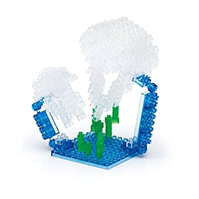 Nanoblock Moon Jellyfish: Toys & Games