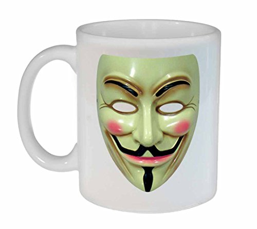 Anonymous Guy Coffee or Tea Mug - Funny Unique Geeky Mug - Joke Gift