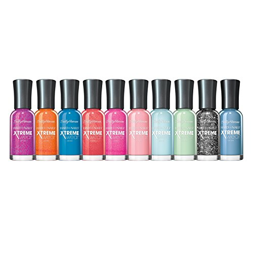 Sally Hansen Xtreme Wear Colors Nail Polish Set, Assorted Colors