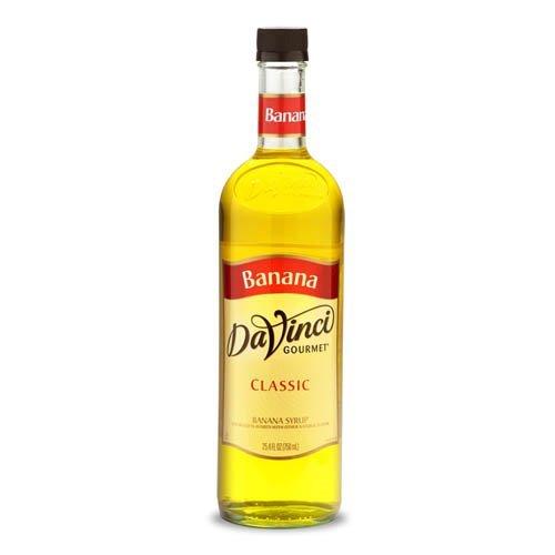 Da Vinci Banana Syrup, 750 ml Bottle