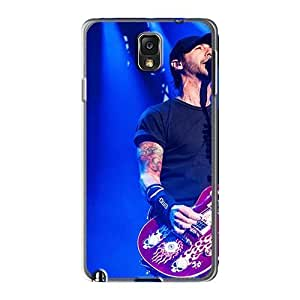 Durable Hard Cell-phone Cases For Samsung Galaxy Note3 With Allow Personal Design Trendy Godsmack Band Skin KevinCormack