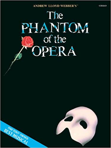 Amazon.com: The Phantom of the Opera: Instrumental Solos for Cello ...