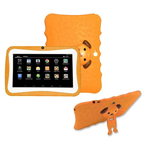 "Price comparison product image Kids Edition Tablet, 7"" HD Display, 32 GB, Kid-Proof Case, Android 4.4 Quad Core, 3D Game Supported (Orange)"