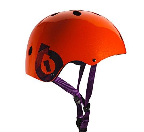 SixSixOne 2016 Dirt Lid Traditional Skate and Multi-Sport Helmet - 7123 (Orange) 661 Full Face Helmet