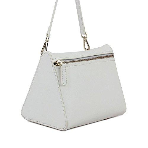 Moda Nuevos Prismáticos Hombro White Original De GWQGZ Simple De Gules Bolso Bolsa Tres De Bolso Dama 4wqdIcRv