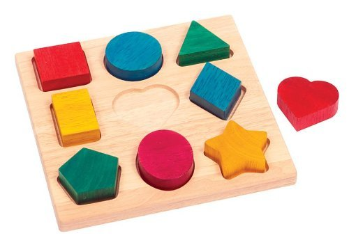 er Wooden Manipulative Toy Puzzle by GuideCraft (Guidecraft Wooden Puzzles)