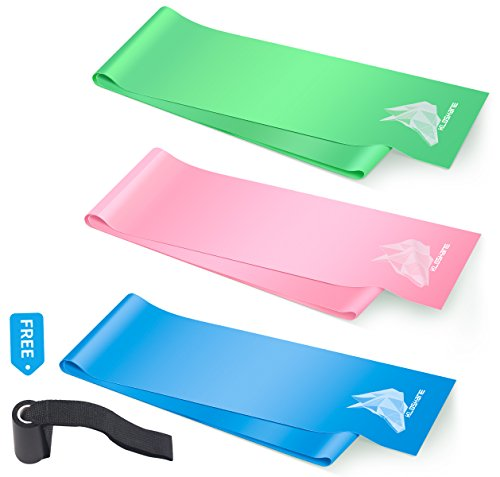 Resistance Exercise Bands Elastic Equipment Home for Strength Training with Door Anchor