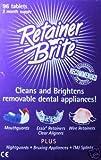 96 Tablet Retainer Brite (3 months supply), Health Care Stuffs