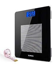YOUNGDO Pèse Personne Impédancemètre, Impedancemetre avec 19 Données Corporelles (BMI/BFR/Muscle/Eau/Graisse Corporelle/Masse osseuse/BMR/Taux de Protéines etc), Balance Impedancemetre 8 Utilisateurs