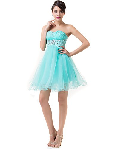 Grace Karin®Beaded Homecoming Dresses Voile for Cocktail Formal Party CL6179 (16)