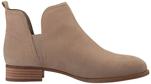 Nine West Women's Nesrin Leather Boot Taupe 4GrhWD