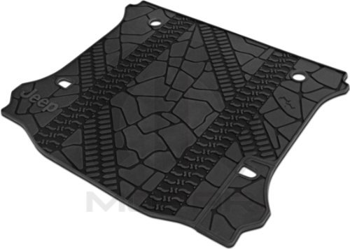 Jeep Wrangler Unlimited Rear Cargo Mat Tray With Floor Mounted Sub Cutout by (Sub Tray)