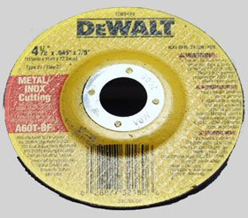 4-1/2 inch x .045 inch x 7/8 inch Thin Cutting Wheel Dcw (115-DW8424) Category: Angle Grinder Parts and Accessories
