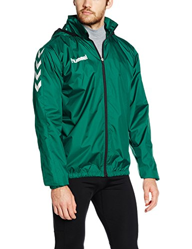 Spray Giacca Da Hummel Uomo Verde Jacket Evergreen Core O8U5wx