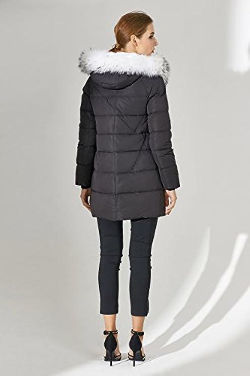 Inverno Basic Donna Cerniera Di Cappotto Con Editions Pelliccia Giacca Casual Volpe Bianca qEEx46w