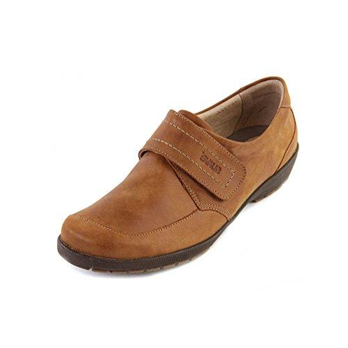 Charol de canela de Suave para mujer Zapatos cordones fCTwIx7