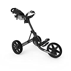 The Clicgear Model 3.5+ is the three-wheel golf push cart with all the bells and whistles! The Clicgear 3.5+ folds for easy transport and weighs only 18 pounds for effortless maneuvering. The Clicgear 3.5+ features a handle mounted hand brake...