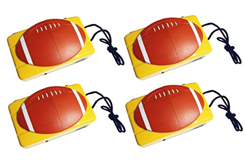 4 Pack Unique 35mm Camera Football Theme Young Little Boy Man Men Dad Teacher Him Fun Cool Silly NFL Stocking Stuffer Gag Christmas Gift Idea Super Bowl Party Favor Supplies Decor Door Prizes Hostess (Romantic Football Mugs compare prices)