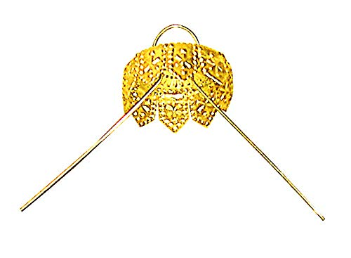 National Artcraft Gold Ornament Cap is 3/4