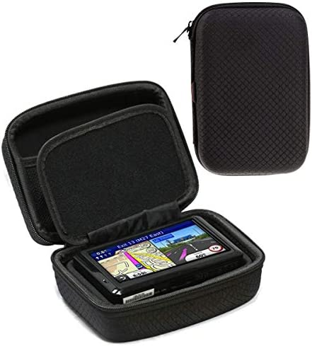 Navitech Black Hard Carry Case CompatibleThe Garmin Drive 61 USA LM GPS Sat Nav