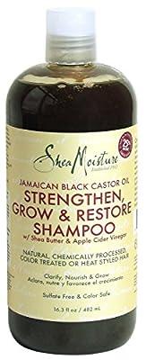 Jamaican Black Castor Oil Strengthen, Grow & Restore Shampoo by Shea Moisture