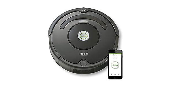 iRobot Roomba 676 aspiradora robotizada Sin bolsa Negro 0,6 L ...