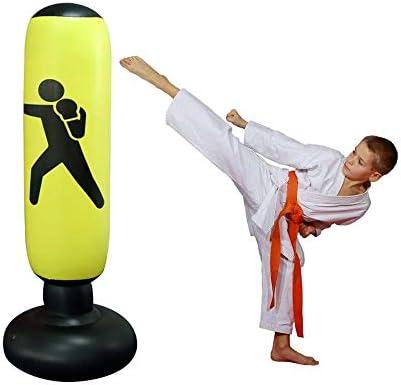 Womdee Saco de Boxeo para Mujer, Inflable, Saco de Boxeo y Saco de ...
