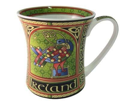 Irish China (Mug Celtic Peacock)