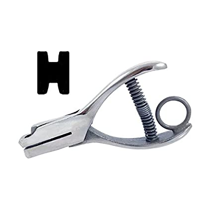 Letter Hole Puncher.Amazon Com Hole Punch Letter H 3 16 Office Products