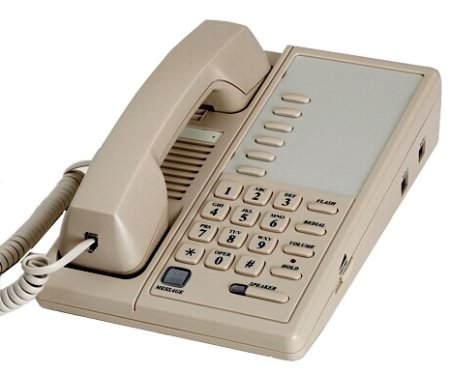Royale 3040 Hotel Single Line Speakerphone with Six Memory Keys (Line Hospitality Speakerphone)