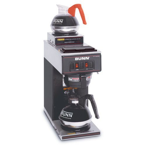 - Bunn VP17-2 BLK Pourover Coffee Brewer with 2 Warmers