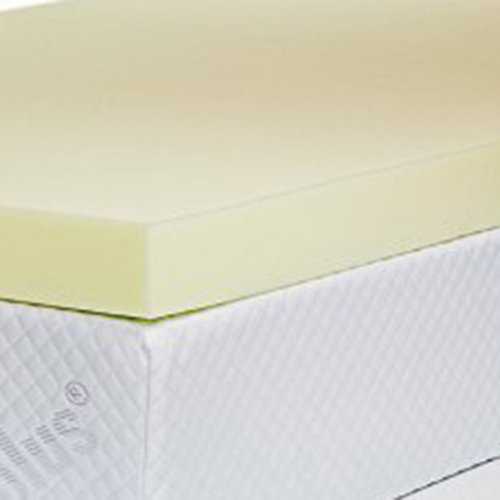 Southern Foam Colchón de Espuma viscoelástica con Funda, Poliuretano, Amarillo, Doble pequeño (120 x 190 cm): Amazon.es: Hogar