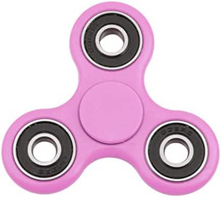 Fidget Spinner Toy The Anti-Anxiety 360 Spinner Helps Focusing Fidget Toys [3D Figit] Premium Quality EDC Focus Toy for Kids & Adults - Best Stress Reducer Relieves Anxiety (Pink)