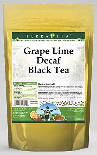 (Grape Lime Decaf Black Tea (25 Tea Bags, ZIN: 540885) - 3 Pack)
