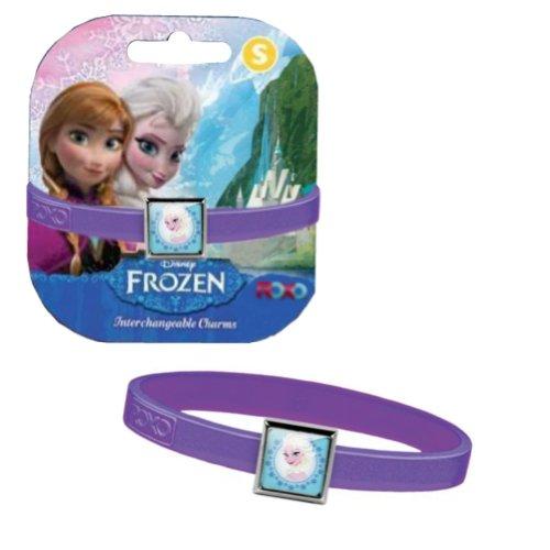 [Disney Frozen Elsa Charm Bracelet - Purple] (Baby Anna Costumes Frozen)
