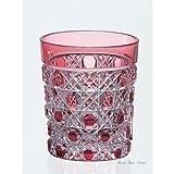 Edo-kiriko (Sake Glass)#t590-1-cau