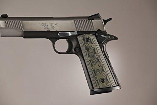 Hogue Govt  Model S A Techwell Mag Well G10 Gun Grips  Damascus Green