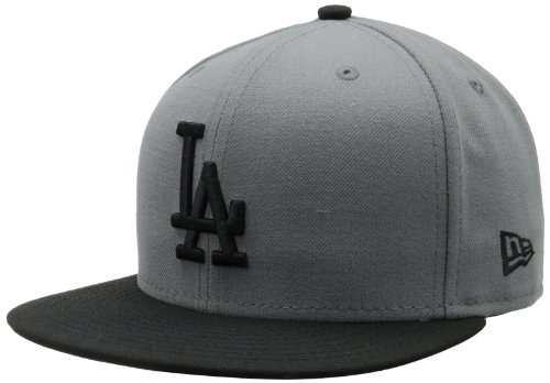 192ce261e76 MLB Los Angeles Dodgers MLB Basic Stm Gry 59Fifty