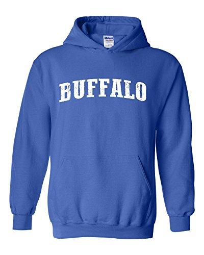 City of Buffalo New York Traveler`s Gift Unisex Hoodie (5XLRB) Royal -